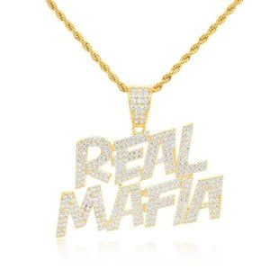 14k Real Mafia Hip Hop Pendant / Gifts for him